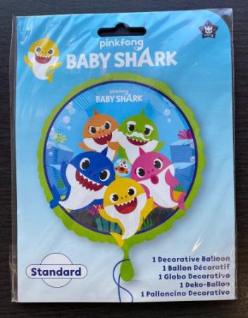 Balon folie rotund Baby Shark 43 cm [3]