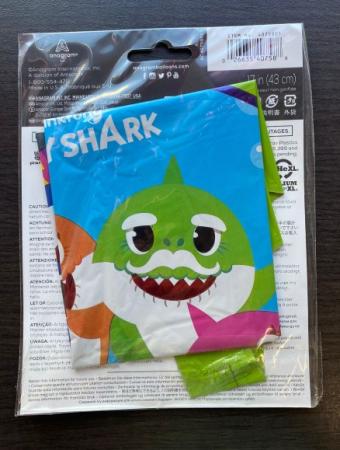 Balon folie rotund Baby Shark 43 cm [2]