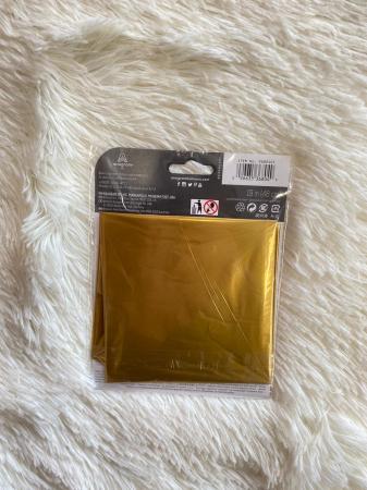 Balon folie Stea Satin Gold Auriu 45 cm3