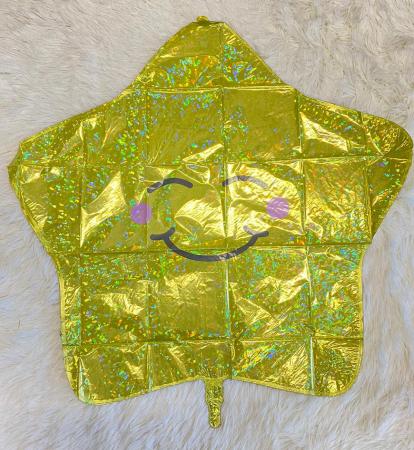 Balon folie stea zambitoare 66 cm [2]