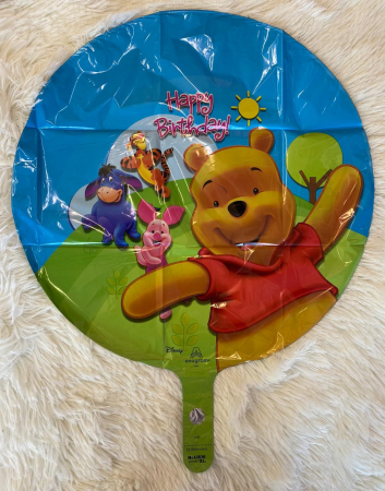 Balon folie Winnie the Pooh & Friends Happy Birthday 43cm 0805181574961