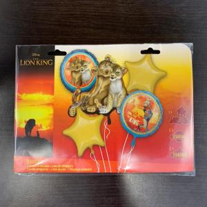 Buchet 5 baloane folie Lion King / Regele leu 00266353987701
