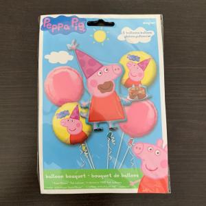 Buchet 5 baloane folie Peppa Pig 0266353130181