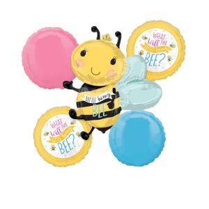 Buchet 5 baloane folie Little Honey Bee, Albina 00266353854800