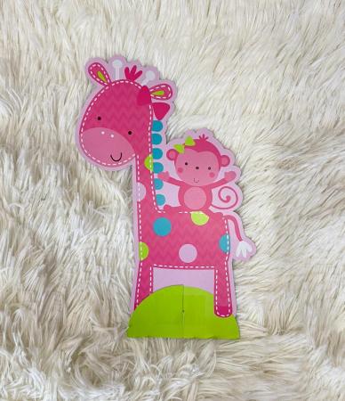 Kit decoratiuni carton masa 1 an fetita 23 bucati6