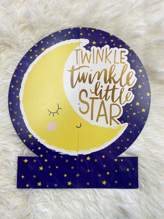 Kit decoratiuni carton masa Twinkle Little star 27 buc [4]