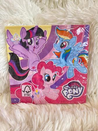 Set 20 servetele hartie My Little Pony 33 * 33 cm1
