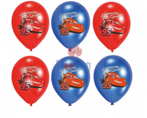 Set 6 Baloane latex Cars 27.5 cm1