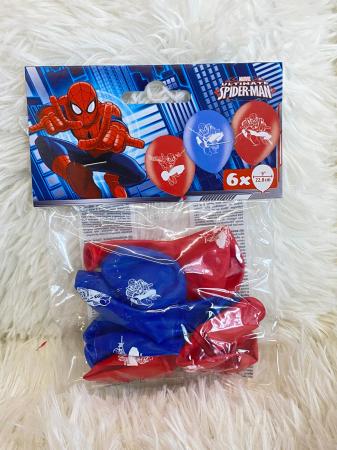 Set 6 baloane latex Spider Man 22.8 cm [1]