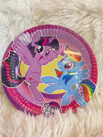Set 8 farfurii carton My Little Pony 18 cm1
