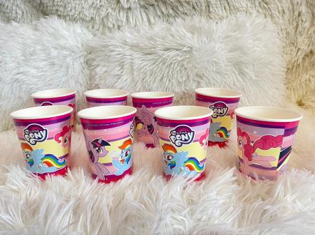 Set 8 pahare carton My Little Pony 250 ml [1]