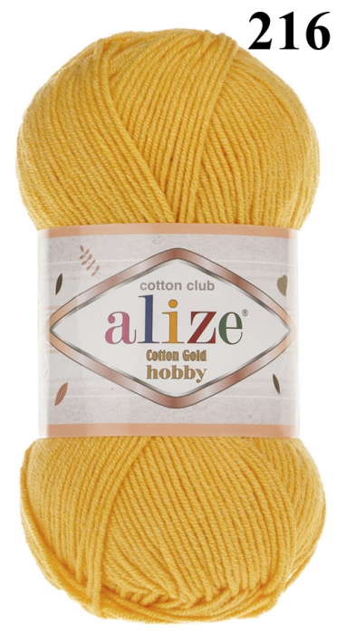 Cotton Gold Hobby 6