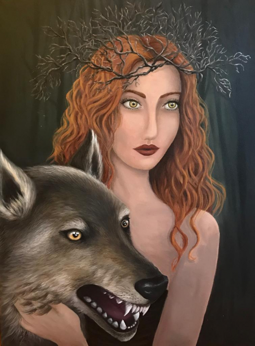 Wolf Godess 0