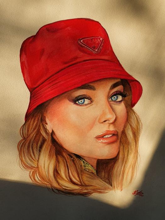 Portrete pastel/creioane colorate [0]