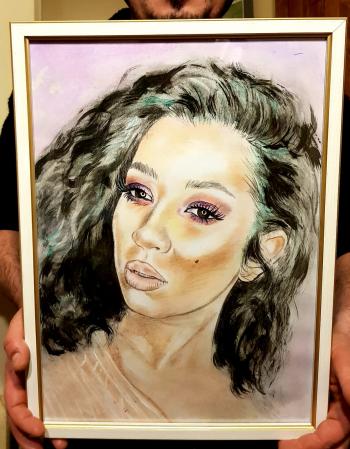 Portrete pastel/creioane colorate [4]