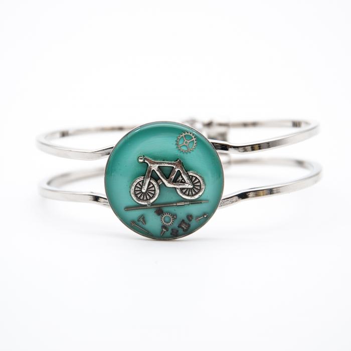 Bratara Bicicleta Turquoise 0