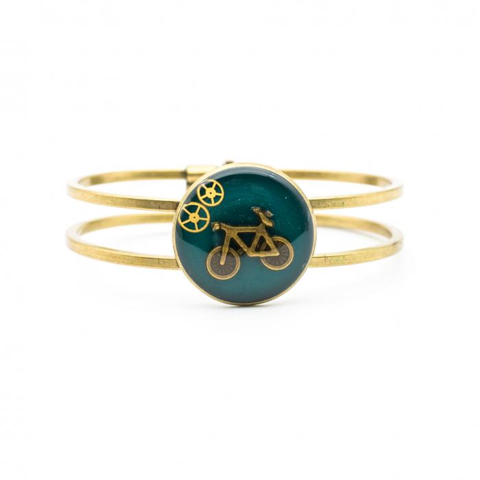 Bratara Verde Smarald - Bicicleta 0