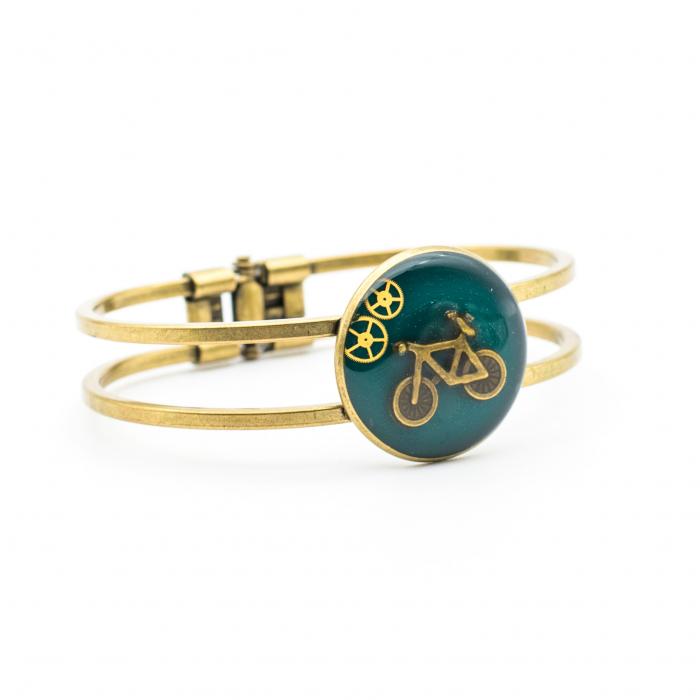 Bratara Verde Smarald - Bicicleta 2