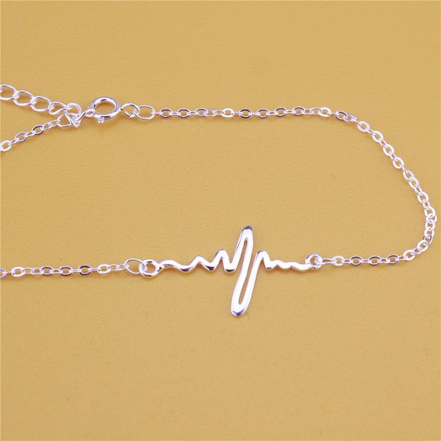 Bratara HEARTBEAT Flexi Argint 925 [3]