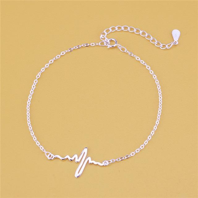 Bratara HEARTBEAT Flexi Argint 925 [1]
