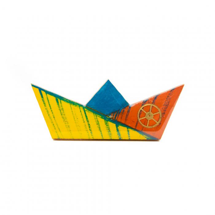 Brosa LEMN Barca 0