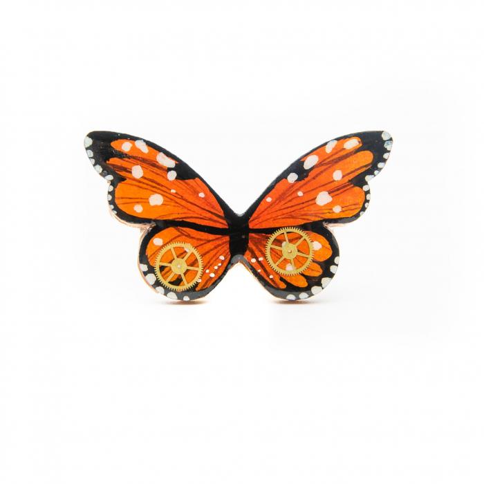 Brosa LEMN Butterfly 0