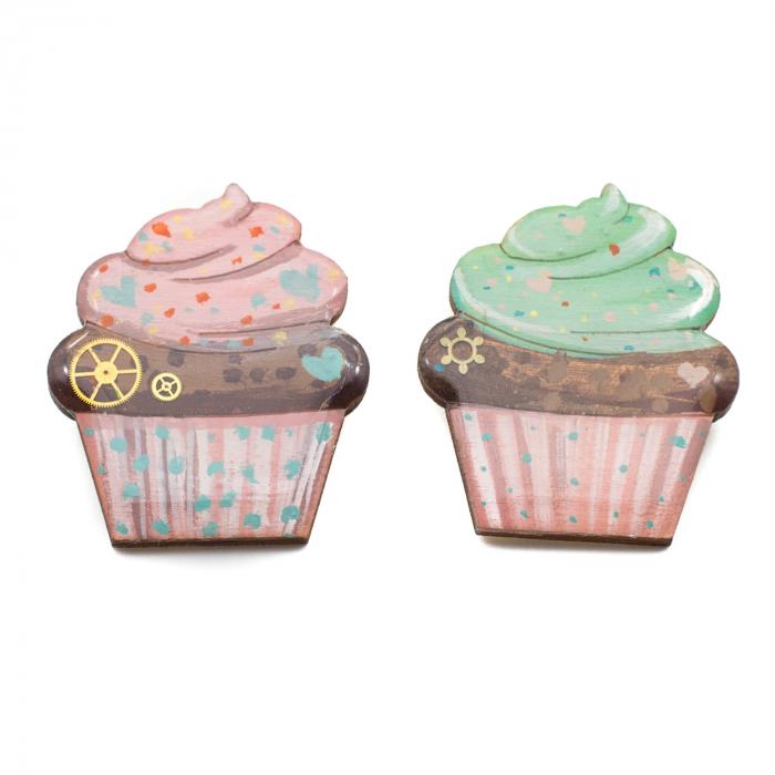 Brosa LEMN Green Cupcake 2