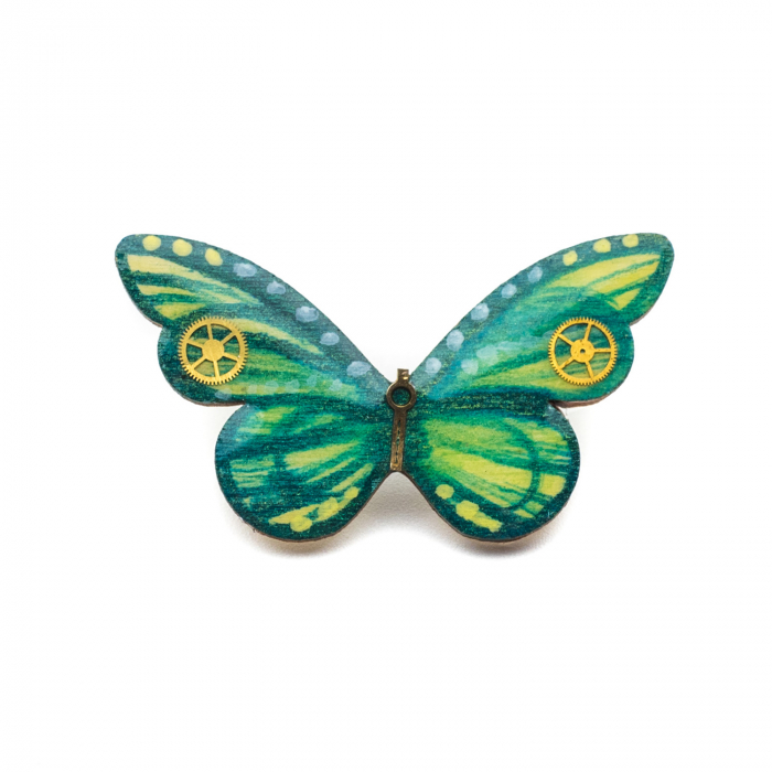 Brosa GREEN BUTTERFLY 0