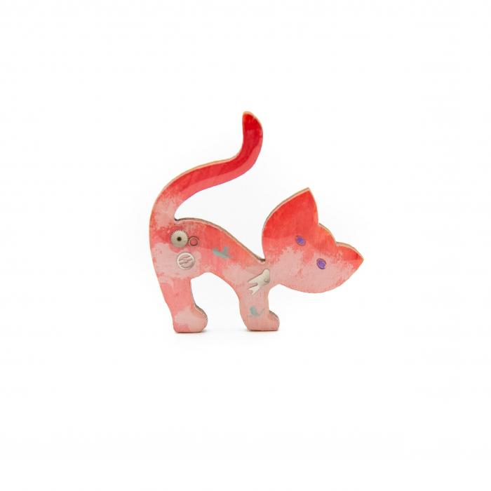 Brosa LEMN Pink Kitten