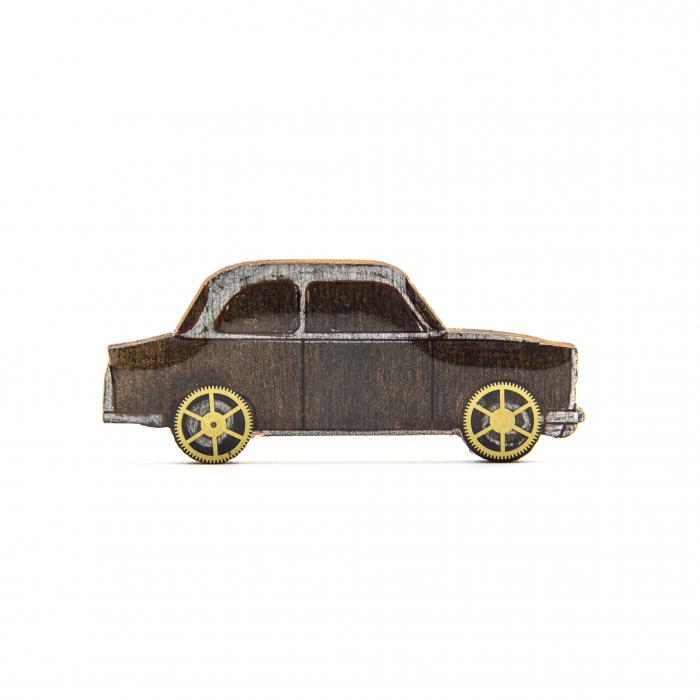 Brosa Lemn RETRO Car 0