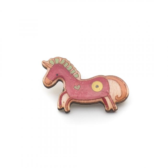 Brosa Unicorn Roz 2