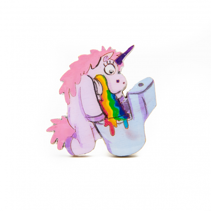 Brosa Lemn Unicorn - Sick of RAINBOW 0