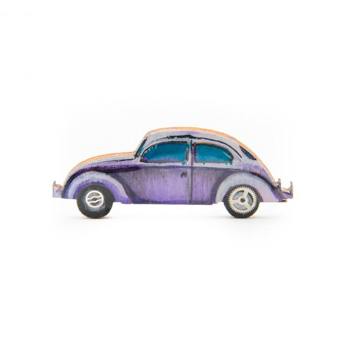 Brosa Lemn VW retro CAR - Mov 0