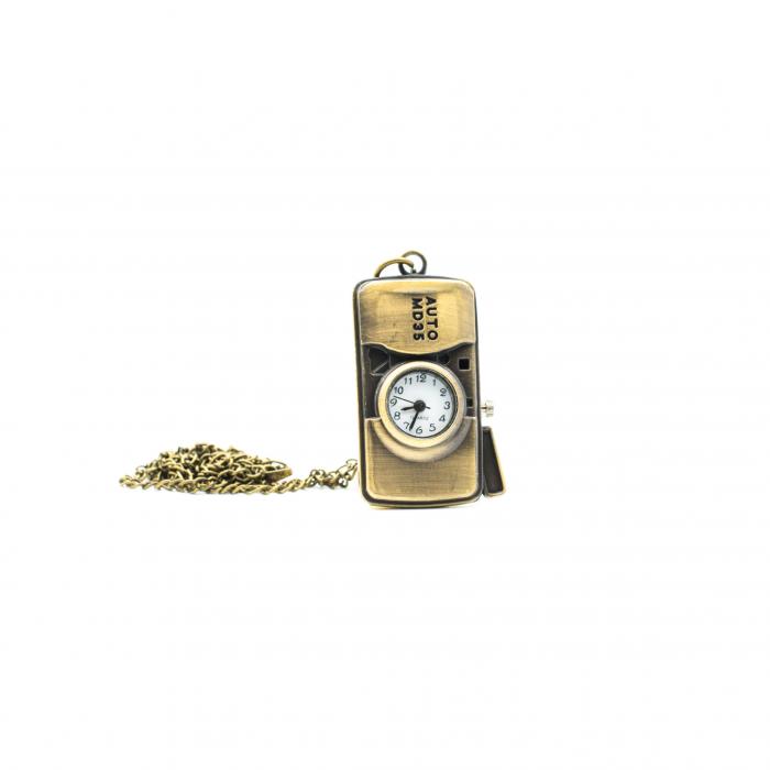 Ceas cu lantisor -Aparat foto 1
