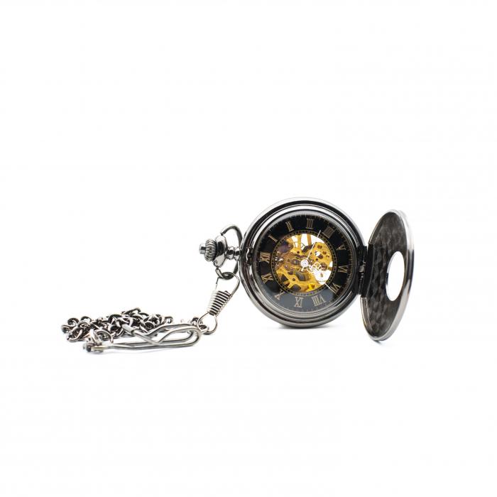 Ceas de Buzunar Mecanic - Colectia SteamWall 2