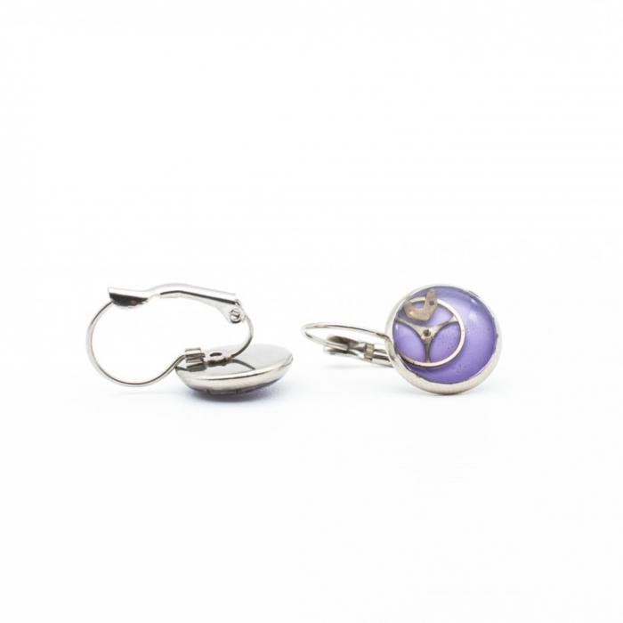 Cercei Ultra Violet Leverback 1
