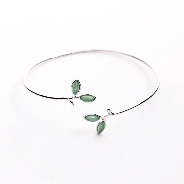 Bratara 'Opal Leaf' Argint 925 2