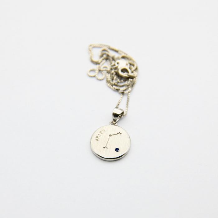 Colier Zodiac BERBEC / Aries - Argint 925 [3]