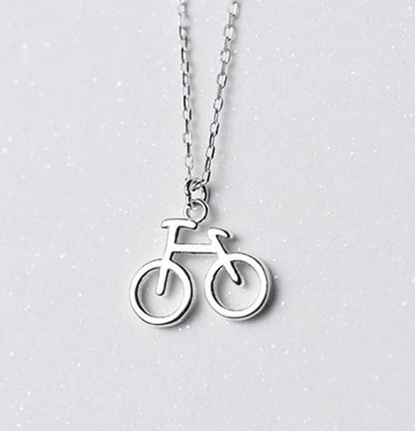 Colier BICICLETA - Argint 925 0
