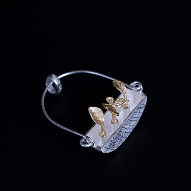 Colier 'Goldy's Basket' Argint 925 4