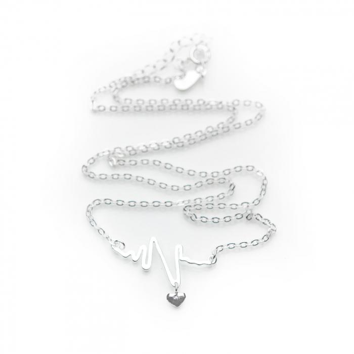 Colier HEARTBEAT -  Argint 925 1