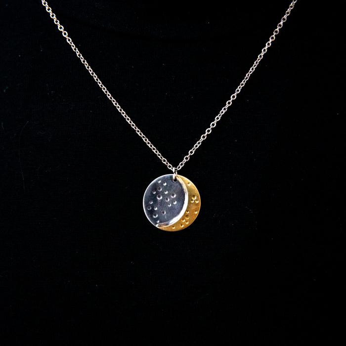 Colier CRESCENT MOON - Argint 925 0