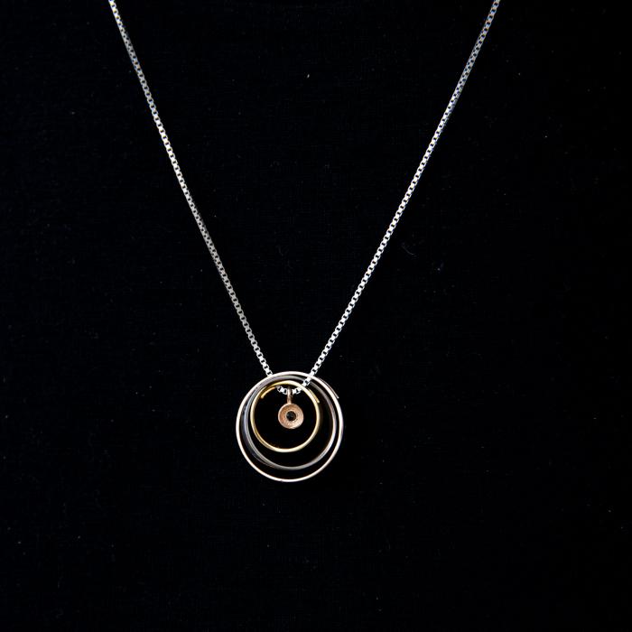 Colier PURE LOVE - Argint 925 placat cu Aur 8