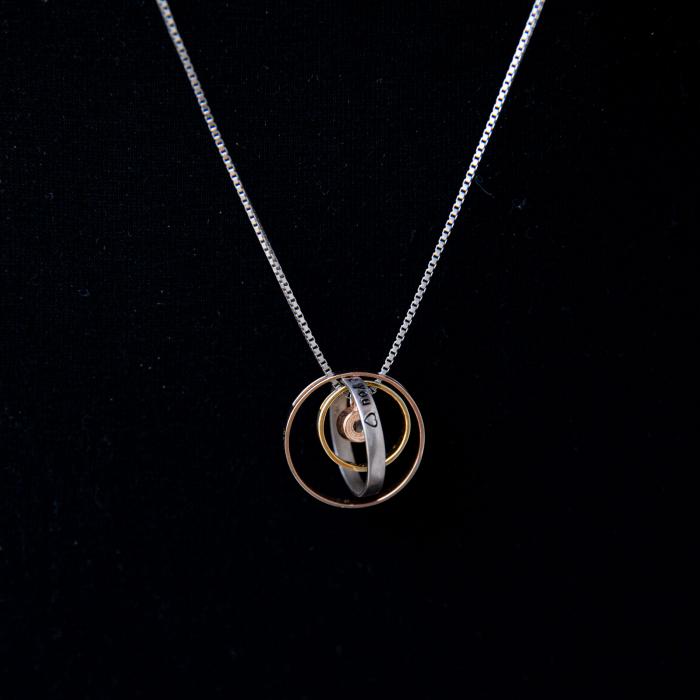 Colier PURE LOVE - Argint 925 placat cu Aur 3