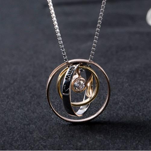 Colier PURE LOVE - Argint 925 placat cu Aur 4