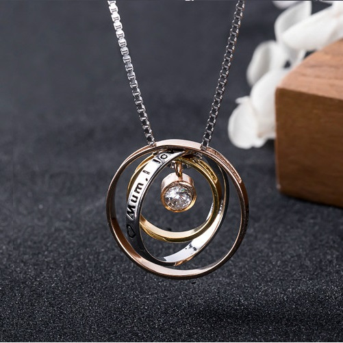Colier PURE LOVE - Argint 925 placat cu Aur 0