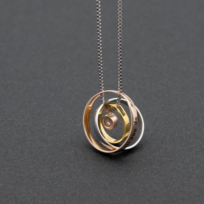 Colier PURE LOVE - Argint 925 placat cu Aur 7