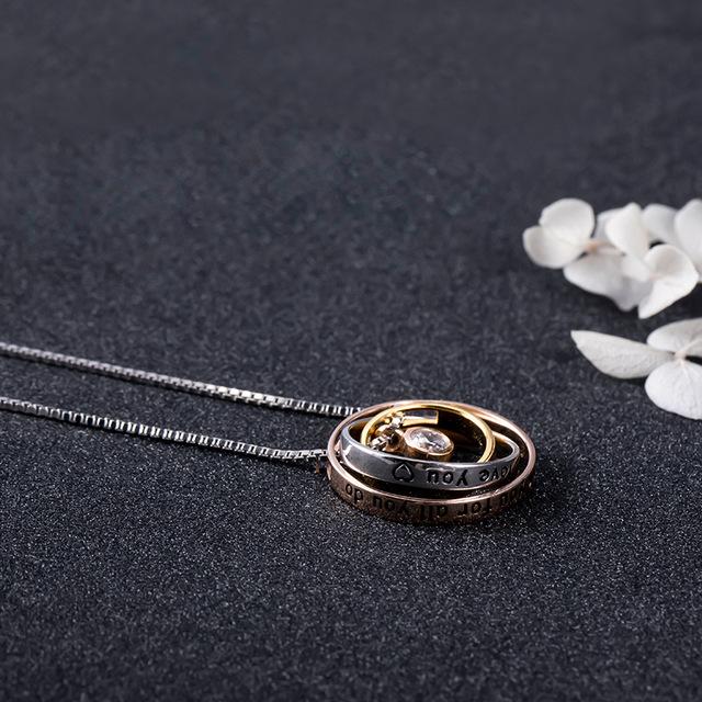 Colier PURE LOVE - Argint 925 placat cu Aur 10