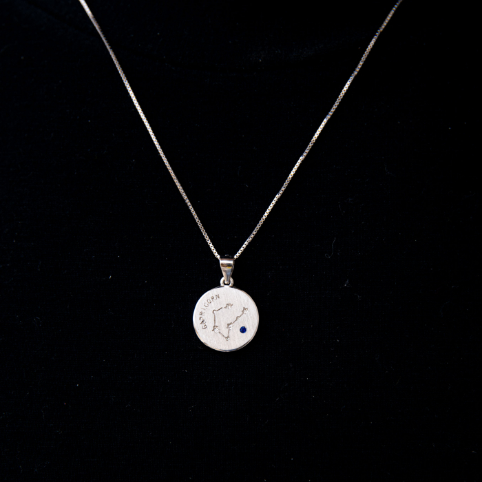 Colier Zodiac CAPRICORN - Argint 925 0