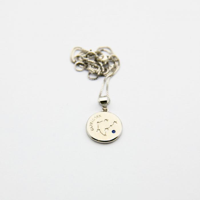 Colier Zodiac CAPRICORN - Argint 925 3